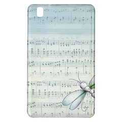 Vintage Blue Music Notes Samsung Galaxy Tab Pro 8 4 Hardshell Case