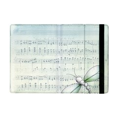 Vintage Blue Music Notes Ipad Mini 2 Flip Cases