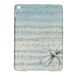 Vintage Blue Music Notes Ipad Air 2 Hardshell Cases