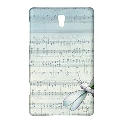 Vintage Blue Music Notes Samsung Galaxy Tab S (8 4 ) Hardshell Case