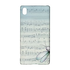 Vintage Blue Music Notes Sony Xperia Z3+