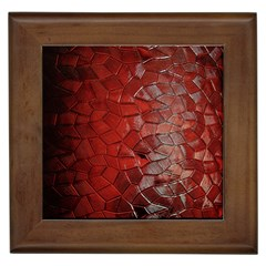 Pattern Backgrounds Abstract Red Framed Tiles