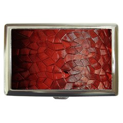 Pattern Backgrounds Abstract Red Cigarette Money Cases