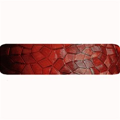 Pattern Backgrounds Abstract Red Large Bar Mats