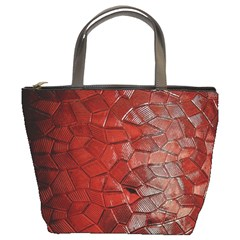 Pattern Backgrounds Abstract Red Bucket Bags