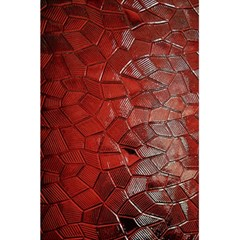 Pattern Backgrounds Abstract Red 5 5  X 8 5  Notebooks