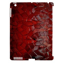 Pattern Backgrounds Abstract Red Apple Ipad 3/4 Hardshell Case (compatible With Smart Cover)