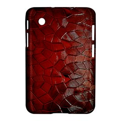 Pattern Backgrounds Abstract Red Samsung Galaxy Tab 2 (7 ) P3100 Hardshell Case