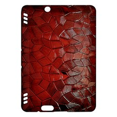 Pattern Backgrounds Abstract Red Kindle Fire Hdx Hardshell Case