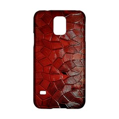 Pattern Backgrounds Abstract Red Samsung Galaxy S5 Hardshell Case