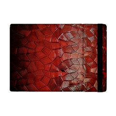Pattern Backgrounds Abstract Red Ipad Mini 2 Flip Cases