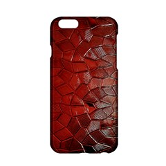 Pattern Backgrounds Abstract Red Apple Iphone 6/6s Hardshell Case