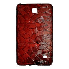 Pattern Backgrounds Abstract Red Samsung Galaxy Tab 4 (8 ) Hardshell Case