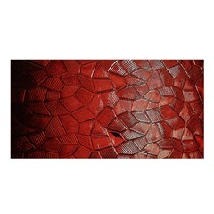 Pattern Backgrounds Abstract Red Satin Shawl