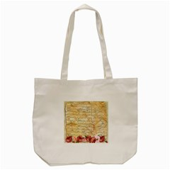 Background Old Parchment Musical Tote Bag (cream)