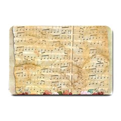 Background Old Parchment Musical Small Doormat
