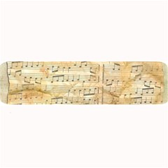 Background Old Parchment Musical Large Bar Mats