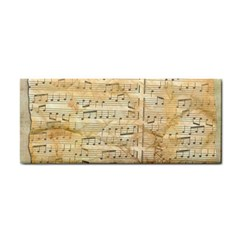 Background Old Parchment Musical Cosmetic Storage Cases