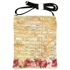 Background Old Parchment Musical Shoulder Sling Bags