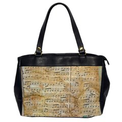 Background Old Parchment Musical Office Handbags