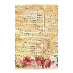 Background Old Parchment Musical Shower Curtain 48  X 72  (small)