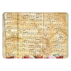 Background Old Parchment Musical Samsung Galaxy Tab 8 9  P7300 Flip Case