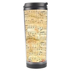 Background Old Parchment Musical Travel Tumbler