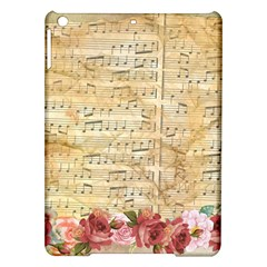 Background Old Parchment Musical Ipad Air Hardshell Cases