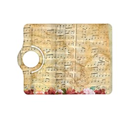 Background Old Parchment Musical Kindle Fire Hd (2013) Flip 360 Case