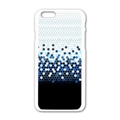 Tech Camouflage Apple Iphone 6/6s White Enamel Case