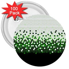 Tech Camouflage 2 3  Buttons (100 Pack)