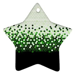 Tech Camouflage 2 Star Ornament (two Sides)