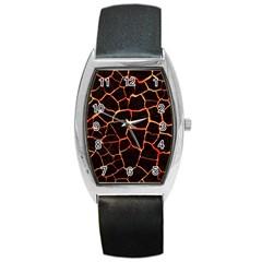 Magma Barrel Style Metal Watch