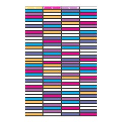 Color Grid 01 Shower Curtain 48  X 72  (small)