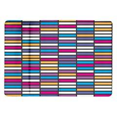 Color Grid 01 Samsung Galaxy Tab 10 1  P7500 Flip Case