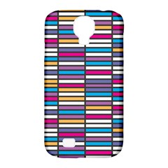 Color Grid 01 Samsung Galaxy S4 Classic Hardshell Case (pc+silicone)