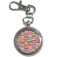 Color Grid 02 Key Chain Watches