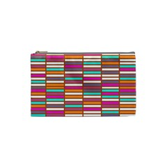 Color Grid 02 Cosmetic Bag (small)