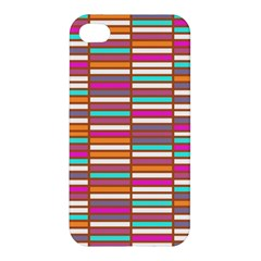 Color Grid 02 Apple Iphone 4/4s Hardshell Case