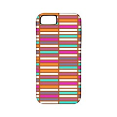 Color Grid 02 Apple Iphone 5 Classic Hardshell Case (pc+silicone)