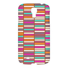 Color Grid 02 Samsung Galaxy S4 I9500/i9505 Hardshell Case