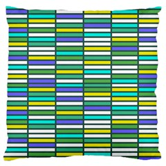 Color Grid 03 Large Cushion Case (one Side)