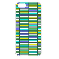 Color Grid 03 Apple Iphone 5 Seamless Case (white)
