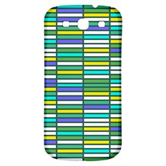 Color Grid 03 Samsung Galaxy S3 S Iii Classic Hardshell Back Case