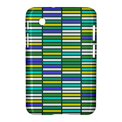 Color Grid 03 Samsung Galaxy Tab 2 (7 ) P3100 Hardshell Case
