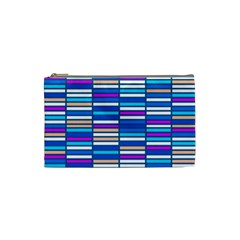 Color Grid 04 Cosmetic Bag (small)