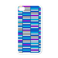 Color Grid 04 Apple Iphone 4 Case (white)