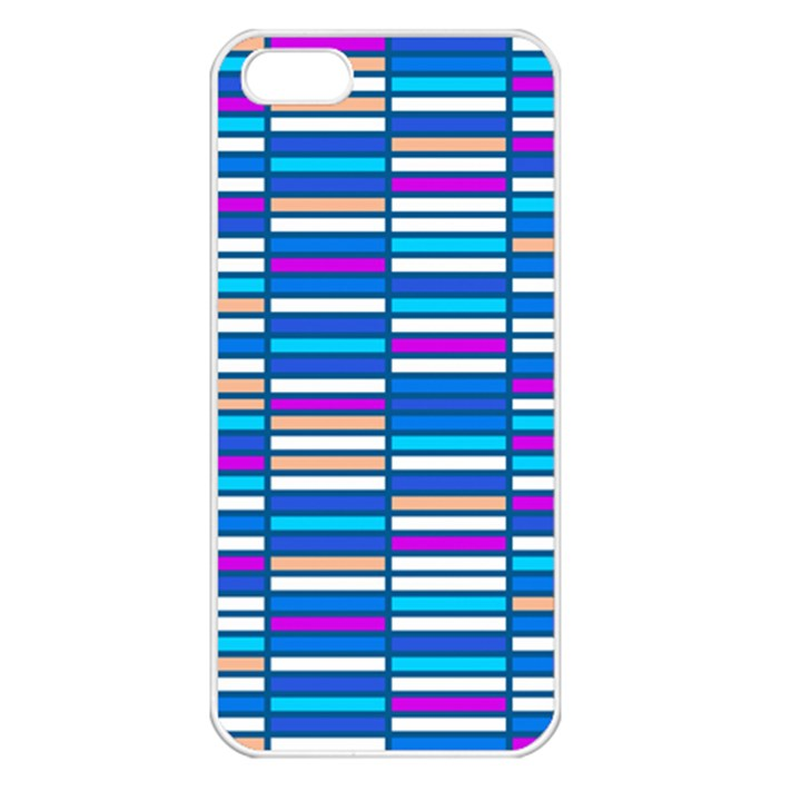 Color Grid 04 Apple iPhone 5 Seamless Case (White)