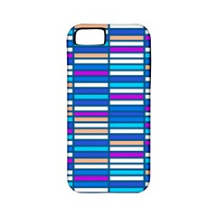 Color Grid 04 Apple Iphone 5 Classic Hardshell Case (pc+silicone)