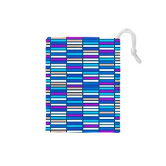 Color Grid 04 Drawstring Pouches (small)